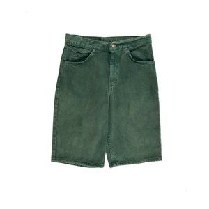 Levi's Relaxed Fit Student Orange Tab Green Shorts